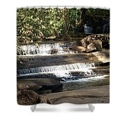 Creek At Table Rock Shower Curtain