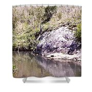 Creek Side Shower Curtain