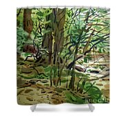 Creekside II Shower Curtain