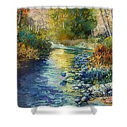 Creekside Tranquility Shower Curtain