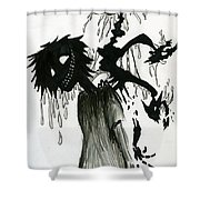 Creep Shower Curtain