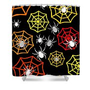 Creepy Crawlers Shower Curtain