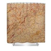 Crema Valencia Granite Shower Curtain