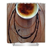 Creme Brule Shower Curtain