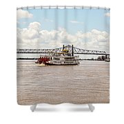 Creole Queen New Orleans Shower Curtain