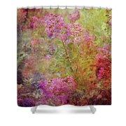 Crepe Garden 1776 Idp_2 Shower Curtain