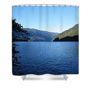 Crescent Lake, Washington Shower Curtain