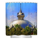 Crescent Of The Dome Shower Curtain