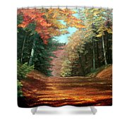 Cressman's Woods Shower Curtain