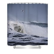 Crest Of A Wave Shower Curtain