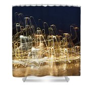 Cretan Symphony-2 Shower Curtain