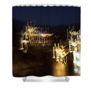 Cretan Symphony-3 Shower Curtain