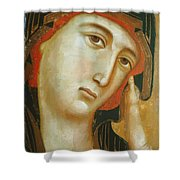 Crevole Madonna Shower Curtain