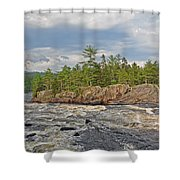 Crib Works Shower Curtain