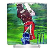 Cricket Warrior Shower Curtain