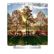 Crisp Autumn Day Shower Curtain
