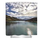 Crisped Lake Shower Curtain