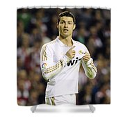 Cristiano Ronaldo 4 Shower Curtain