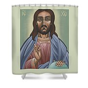 Cristo Pantocrator 175 Shower Curtain
