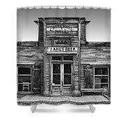 Criterion Hall Saloon -- Montana Territories Shower Curtain