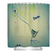 Critical Wounds Shower Curtain
