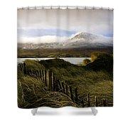 Croagh Patrick, County Mayo, Ireland Shower Curtain