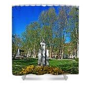Croatian Giant - Ivan Mazuranic Shower Curtain