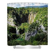 Croatias Wonders Shower Curtain