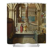 Croesus And Solon Shower Curtain