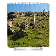 Crofters Fence Shower Curtain