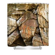 Croix Stone 2 Shower Curtain