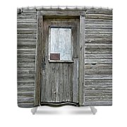 Crooked Door Shower Curtain