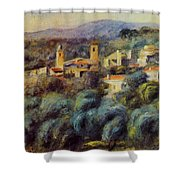 Cros De Cagnes 1905 Shower Curtain