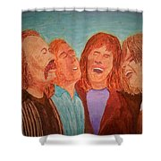 Crosby, Stills, Nash And Young Shower Curtain