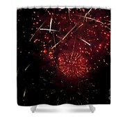 Cross Fire Shower Curtain