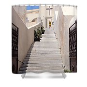 Steps To Salvation Shower Curtain