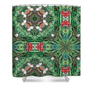 Cross Of Enod Shower Curtain