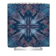 Cross Of Mentors Shower Curtain