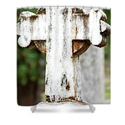 Cross Of Stone Shower Curtain