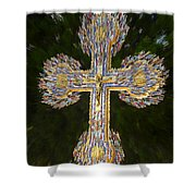Cross Of The Epiphany Shower Curtain