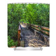 Cross Over The Bridge - Sedona Arizona Shower Curtain