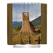 Cross Roads Shower Curtain