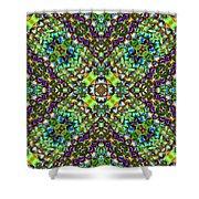 Cross Shine Shower Curtain