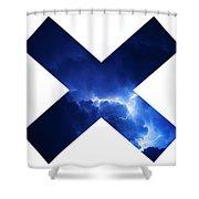 Cross Storm Shower Curtain