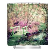 Cross With Me Shower Curtain