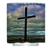 Cross Without Words Shower Curtain