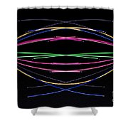 Crossed Wires 1 Shower Curtain