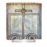 Crosses Voided - Artistic Shower Curtain