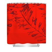 Crossing Branches 12 Shower Curtain