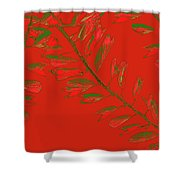 Crossing Branches 16 Shower Curtain